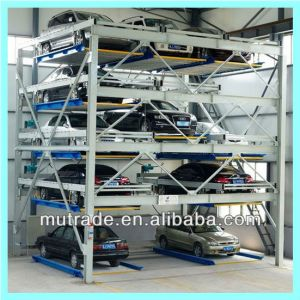 Vertical Sliding Automatic Puzzle Parking System 4 Levels pictures & photos