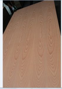 Natural Red Beech Faced Plywood 12mm and 15mm pictures & photos