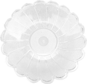 Transparent Fruit Plate, Fruit Bowl, Salad Bowl Px15-4