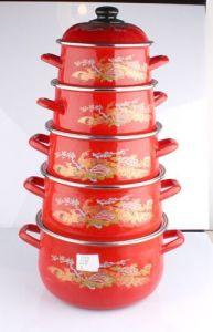 Turkey Style Enamel Pot 5PCS Set 18-26cm 773ED pictures & photos