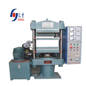 Rubber Vulcanizing Press Machine for Making Shoe Sole pictures & photos
