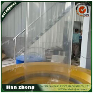 Three Layer Co-Extrusion Horizontal Haul off Oscillating Rotary Film Blowing Machine 55-2-65-1-1600 pictures & photos