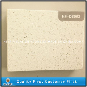 Artificial White Quartz Stone with Mirror Sparkles pictures & photos