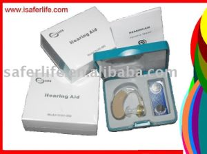 Powerful Affordable Mini Tunable Behind Ear Hearing Aid Aids with Battery pictures & photos