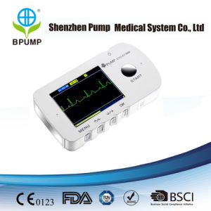 Continuous Household Single Channel ECG Monitor with Lead Wire