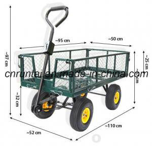 Heavy Duty Steel Meshed Garden Tool Cart pictures & photos