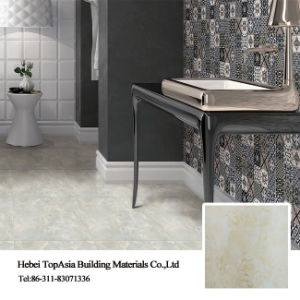 Porcelain Material Soluble Salt Floor Tile for Bathroom/Kitchen