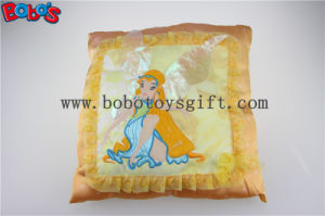 Personalized Cushions Plush Soft Spirit Yellow Kids Pillows pictures & photos