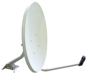 Ku Band Offset 60cm Outdoor Satellite TV Dish Antenna pictures & photos