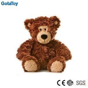 High Quality Dark Brown Teddy Bear Sitting Plush Toy Bear pictures & photos