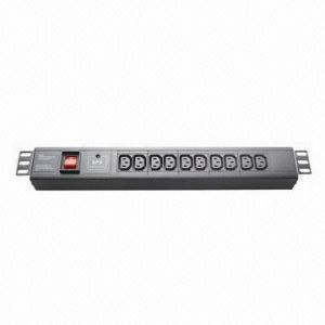 IEC Plug Socket, 10-Way 10A PDU pictures & photos