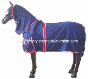 Breathable Blue Polycotton Summer Washale Rugs (SMR566A) pictures & photos