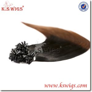 Pre-Bonded Hair Extension Nail Tip Human Hair pictures & photos