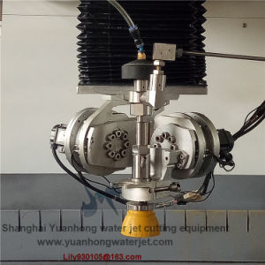 Flow Model 5 Axis Waterjet Cutting Head for The Steel, Stone, Glass Cutting pictures & photos