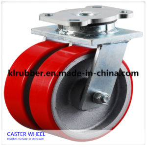 3-8 Inch Heavy Duty PU / Nylon / Rubber Caster Wheel pictures & photos