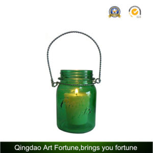 Halloween Glass Jar Candle for Christmas Decoration pictures & photos