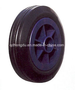 Hig Quality Solid Rubber Wheel (5′) pictures & photos