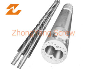 Twin Conical Screw Barrel Double Screw Barrel PVC Pipe pictures & photos