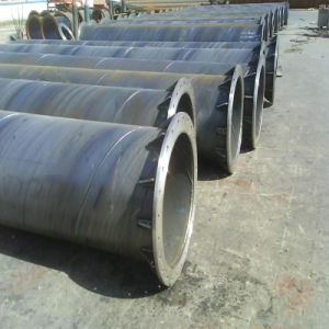 Spiral Steel Pipe with Flange Use for Fluid Transport pictures & photos