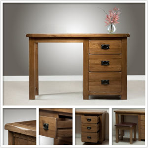 Solid Oak 3 Drawer Dresser Table (HSRU0013)