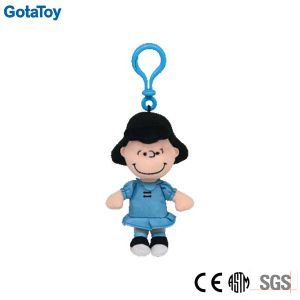 Custom Plush Girl Doll Keychain Soft Toy Plush Doll Keyring pictures & photos