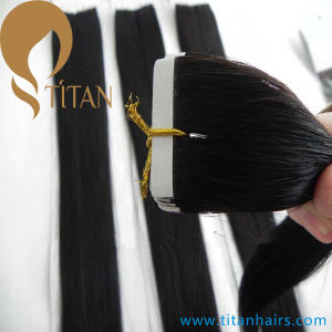 Virgin Brazilian Human Hair Tape in Hair Extension pictures & photos