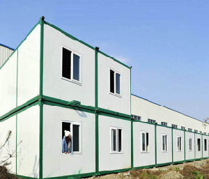 Elegant Commercial Long Life Span Multistory Container Hotel pictures & photos