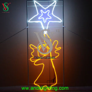 New Angle Figure Outdoor Christmas Light pictures & photos