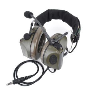 Best Zcomtac II Noise Reduction Wired Army Military Hunting Headset Cl42-0024 pictures & photos