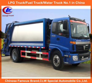 Foton 4X2 10000litres Waste Food Garbage Compactor Truck pictures & photos