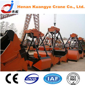 Electric Four-Rope Grab for Crane