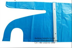 PE Polyester PE Disposable Plastic Apron pictures & photos