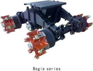 Bogie Single Point Semi Trailer Drum Boogie Suspension pictures & photos