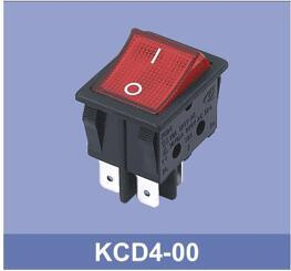 Illuminated Kcd4 Rocker Switch pictures & photos