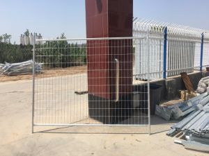 As4687 Standard Galvanized Panels Temporary Wire Fencing pictures & photos