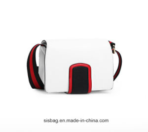 Stylish Contrast Color PU Crossbody Bag for Lady pictures & photos