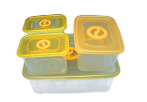 Hot Selling BPA Free Wholesale Plastic Freezer Container Food Container pictures & photos