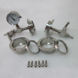 Tube Furnace Vacuum Sealing Assembly Stainless Steel Flange pictures & photos