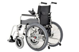 Foldable Electric Wheelchair, Power Wheelchair with CE pictures & photos