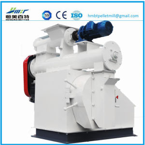Automatic Lubricant Pump System Ring Die Type Wood Pellet Press pictures & photos