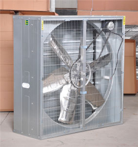 Weight Balance Exhaust Fan for Poultry and Greenhouse
