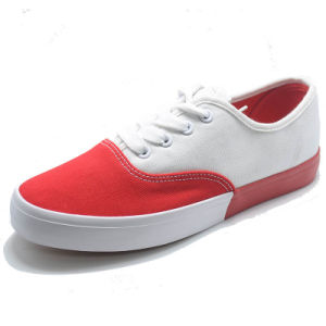 2017canvasshoe Sport Fashion Women Footwear Whiteshoes pictures & photos