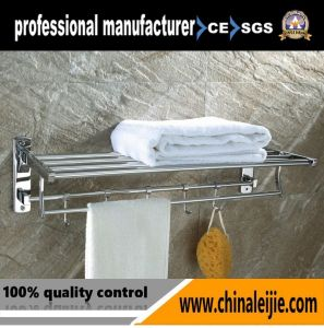 Luxury High Quality Stainless Steel Bathroom Accessory Towl Rack pictures & photos