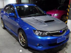 Carbon Fiber Hood (bonnet) for Subaru Impreza Wrx Sti (varis) pictures & photos