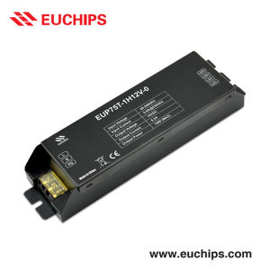 Triac Driver, Constant Voltage 12VDC 75W 1 Channel Eup75t-1h12V-0