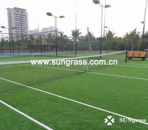 High Sports Tennis Artificial Grass (SUNJ-HY00007) pictures & photos