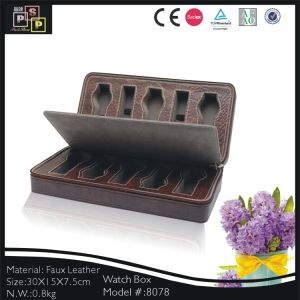 Brown Color Beauty Case Cosmetic (8078) pictures & photos