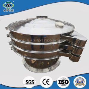 Round Paper Pulp Oil Vibrating Screen for Wet Liquid Filter (XZS1000-2) pictures & photos
