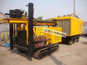Dfq-200 200m Compressor Borewell Drilling Machine for Sale pictures & photos