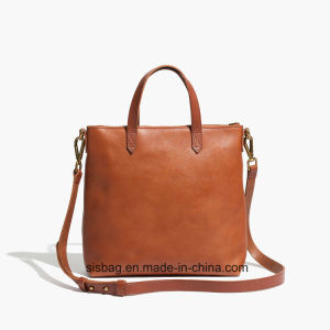 New Trendy Contrast Color Shopper Bag Women Shoulder Bag pictures & photos